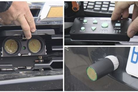 Some Ontario police vehicles now equipped with GPS dart launchers